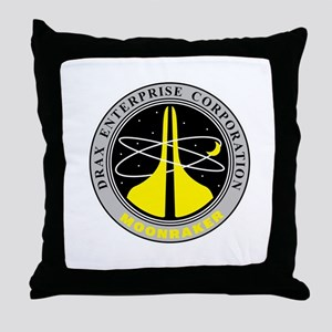 Drax Enterprise Corporation Throw Pillow